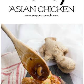 Honey Asian Chicken.