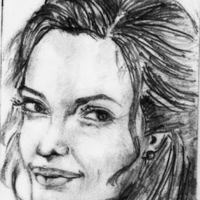 PORTRAIT by Soumya Mukherjee - Drawing All Drawing ( pencil, sketch, face, woman, portrait, drawing )