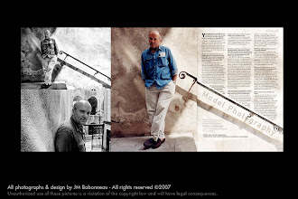 Photo: ATLANTICA in-flight magazine of Icelandair, 2001, feat. Peter Lindbergh © interview & photography by jean-marie babonneau all rights reserved www.betterworldinc.org
