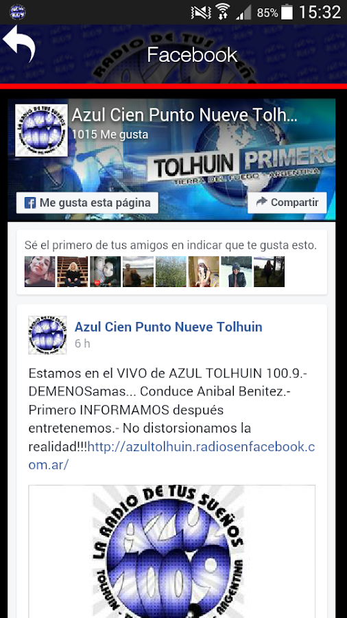 AZUL TOLHUIN- screenshot