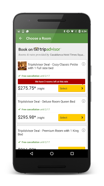 #4. TripAdvisor Hotels Restaurants (Android)