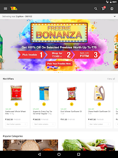 ZopNow - Grocery Shopping- screenshot thumbnail
