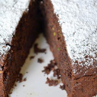 Chocolate & Zucchini Cake.
