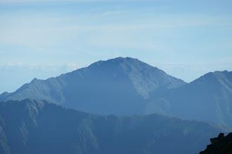 間ノ岳、左に北岳も覗く