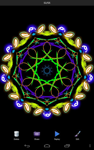 Magic Paint Kaleidoscope  screenshots 1
