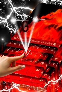 Flame klávesnice - náhled