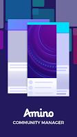 screenshot of Amino Community Manager - ACM