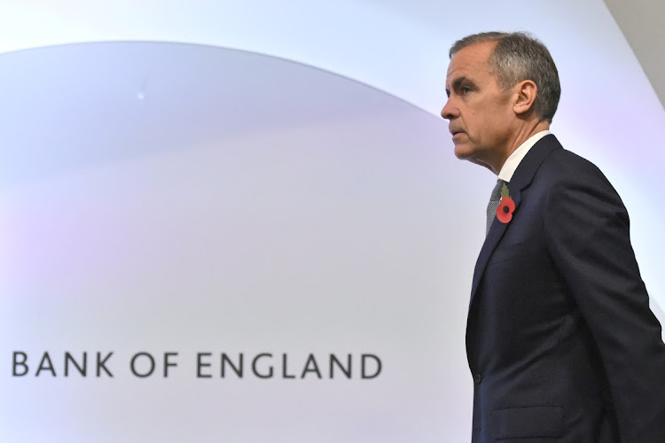 Bank of England governor Mark Carney. Picture: REUTERS/KIRSTY O'CONNOR