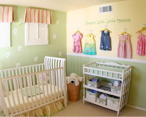 赤ちゃんのベッドルームのアイデア