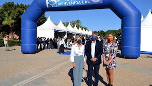 Jornada de Bienvenida del nuevo curso 2021-2022 organizada por la UAL.