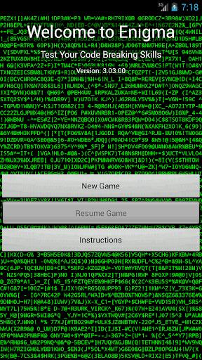 Enigma - Cryptograms