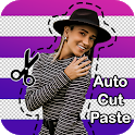 Auto Erase Photo Cut Paste Editor icon