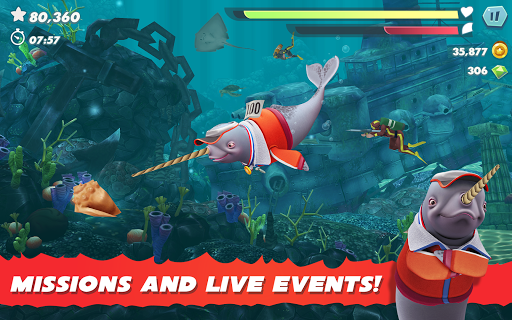 Hungry Shark Evolution 7.6.2 screenshots 21