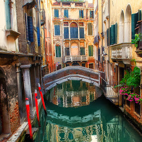 Venice Backwater  by Rory McDonald - Landscapes Travel