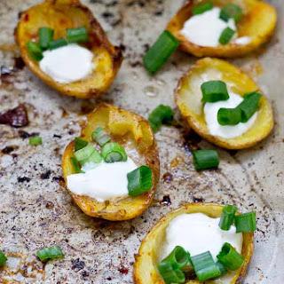 Healthy Potato Skin Poppers.