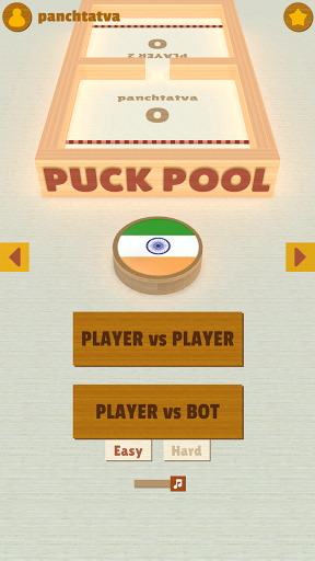 Puck Pool - Fast Sling Puck 3D board game 11.0 screenshots 2