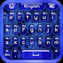 蓝色键盘 icon