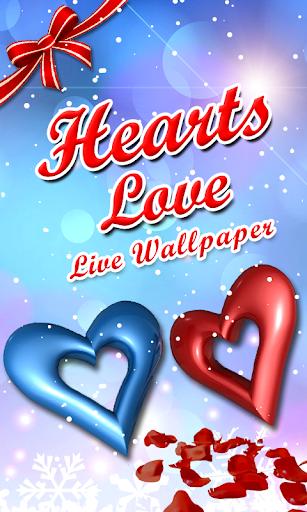 Hearts Love Live Wallpaper New