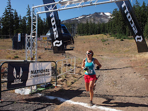 Photo: High Alpine Half Marathon finisher