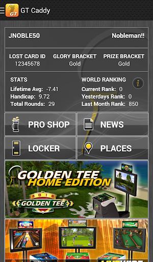 Golden Tee Caddy