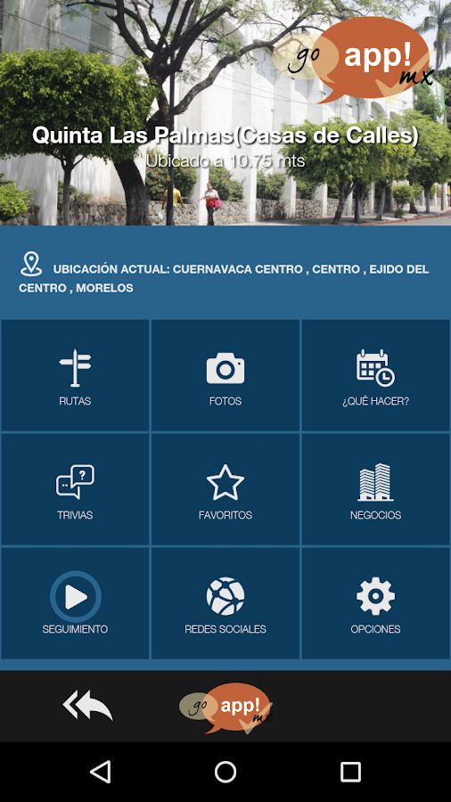 GoAppMx - Travel Guide Interactive- screenshot