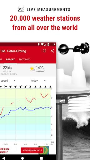 Windfinder - weather & wind forecast 3.15.0 screenshots 4