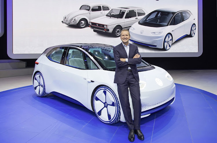 Herbert Diess (pictured) has replaced Matthias Müller has the boss of the Volkswagen Group. Picture: VOLKSWAGEN GROUP