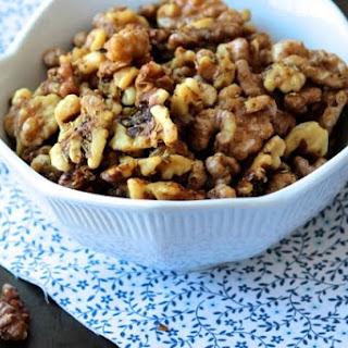 Honey Rosemary Roasted Walnuts