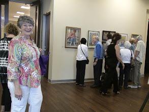 Photo: Lorrie Turner / 4-21-13 Les & Sydelle Art exhibit at Weissman Ctr