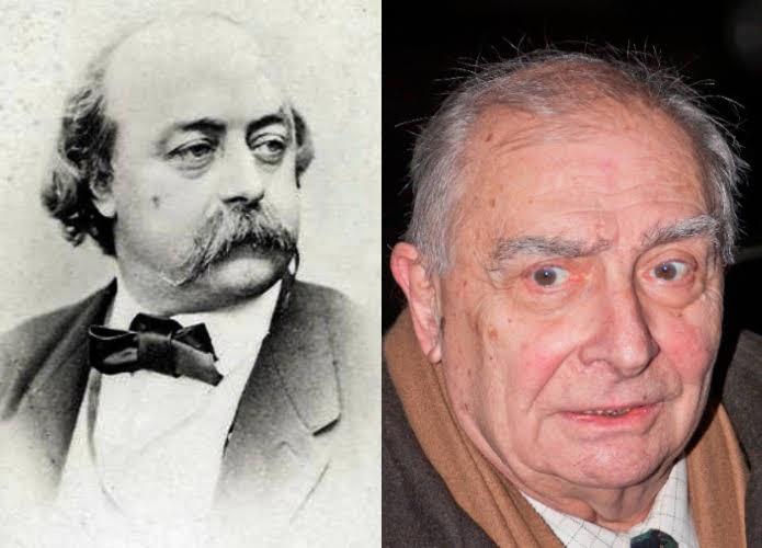 Gustave Flaubert y Claude Chabrol