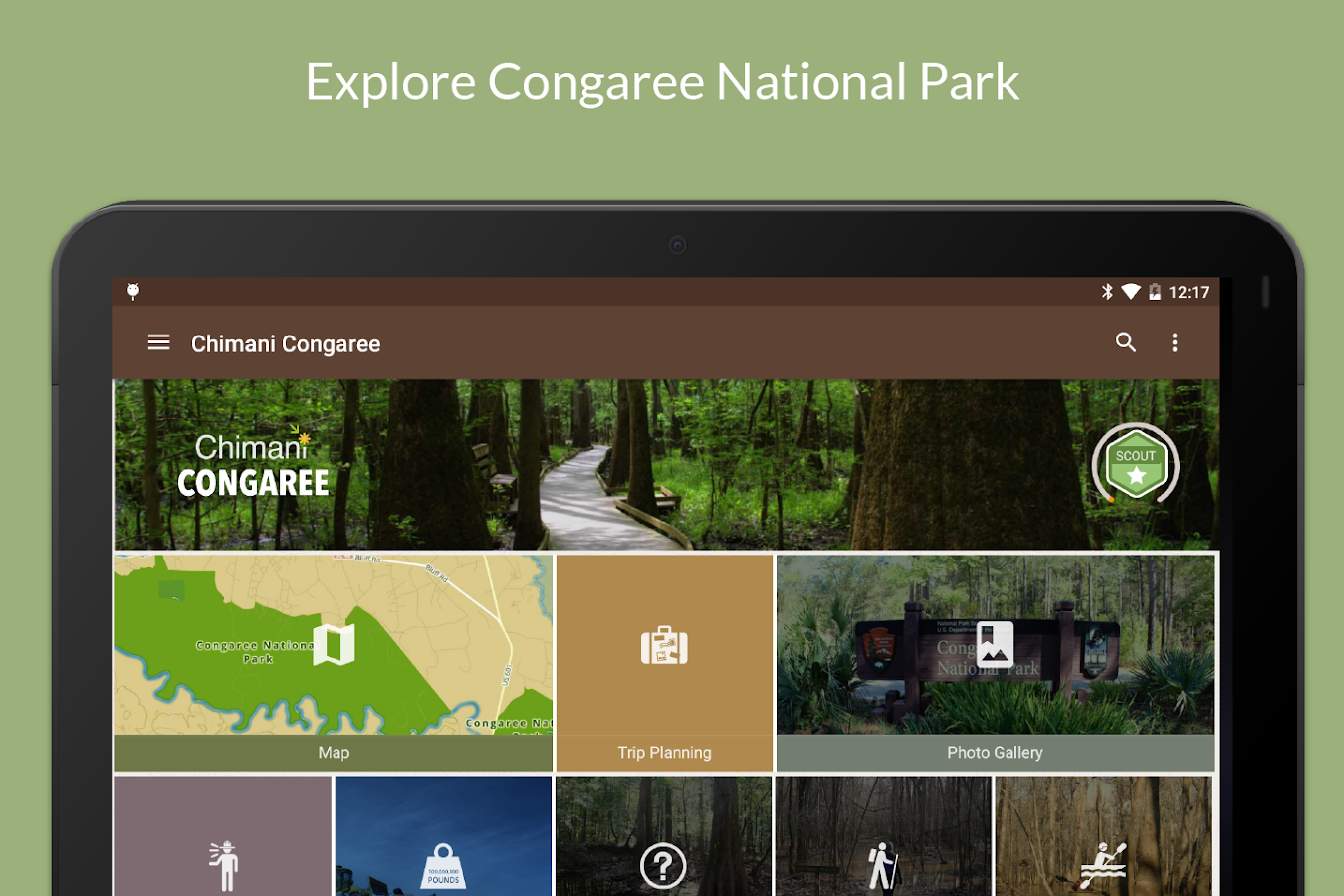 Congaree Ntl Park by Chimani- screenshot