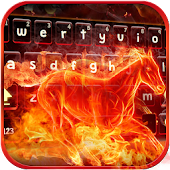 Fire Horse keyboard Theme