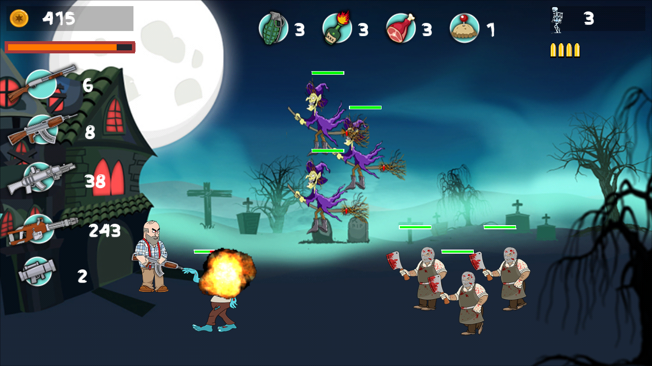 Monster Attack- screenshot