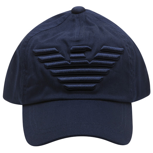 Thumbnail images of Emporio Armani Navy Logo Hat