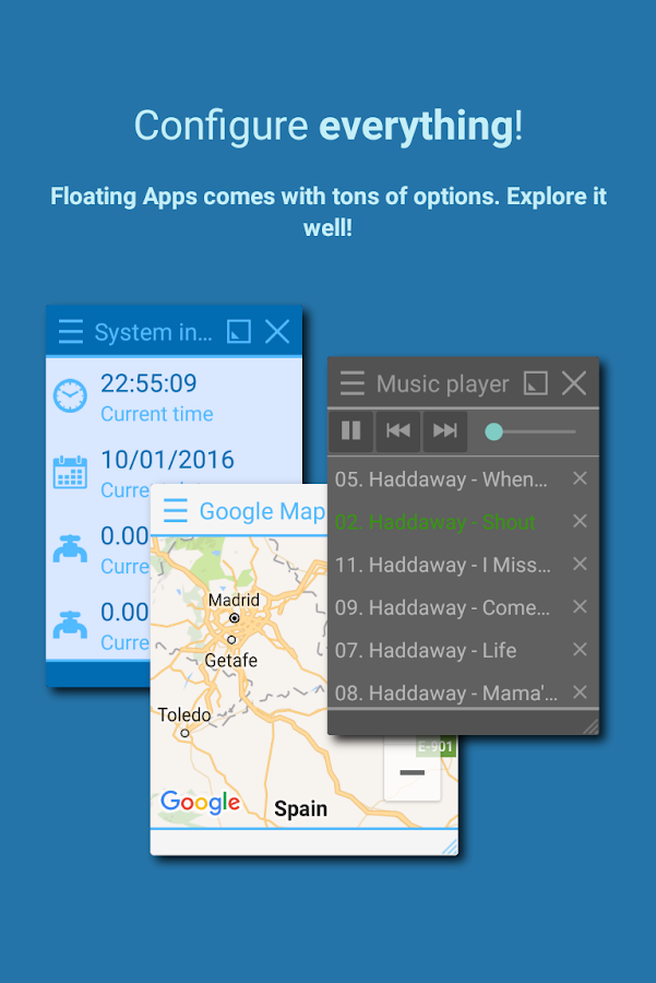 Floating Apps FREE - multitask- スクリーンショット