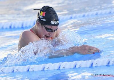 La Belgique comptera une nageuse de plus aux Jeux Olympiques de Tokyo