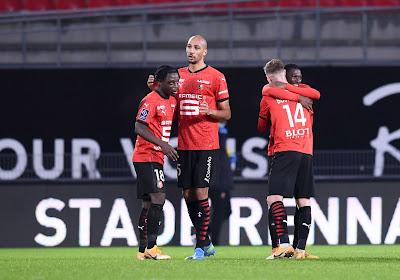 Jérémy Doku was goed voor een assist in de wedstrijd tegen Marseille