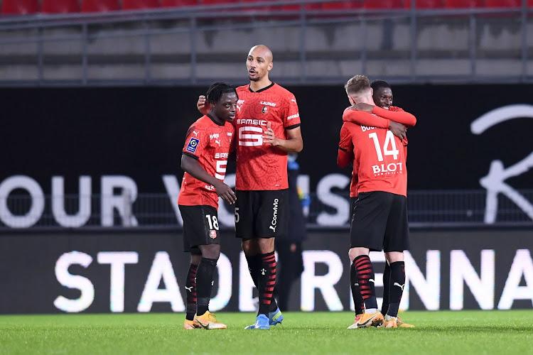 🎥  Jérémy Doku heeft eerste assist beet bij Rennes