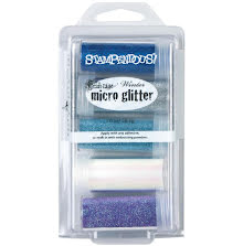 Stampendous Micro Glitter Kit 5/Pkg - Winter