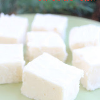 Egg Nog Fudge