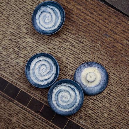 Spiral Träknapp 25mm
