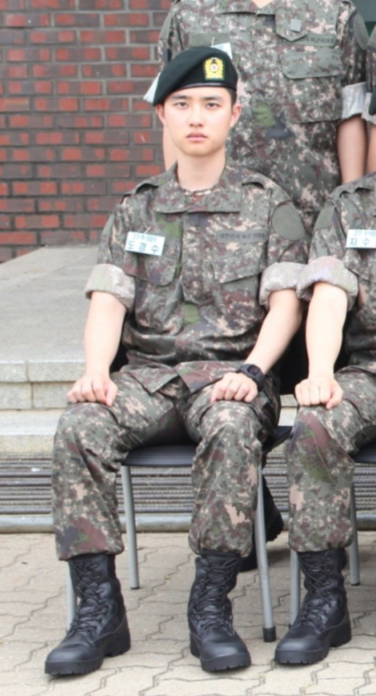 EXO's D O  Will Be Using His Passion For Cooking In The Military And