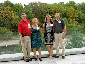 Photo: (CRC Co-Chair) Darryl & Francine Boyce, Tamara & Eckhard Groll (DAL)