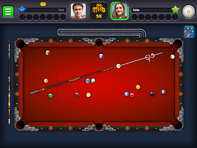 8 Ball Pool Mod Apk 4.8.5 (Long Lines + Stick Guideline + No Ads) 10