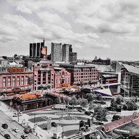 Baltimore Power Plant by Chris Montcalmo - Buildings & Architecture Public & Historical ( colorsplash, baltimore, architecture, city )