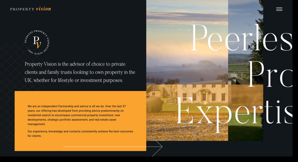 Property Vision website screenshot