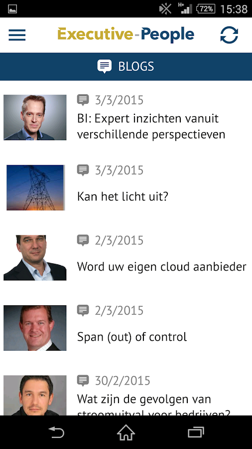 Executive-People: screenshot