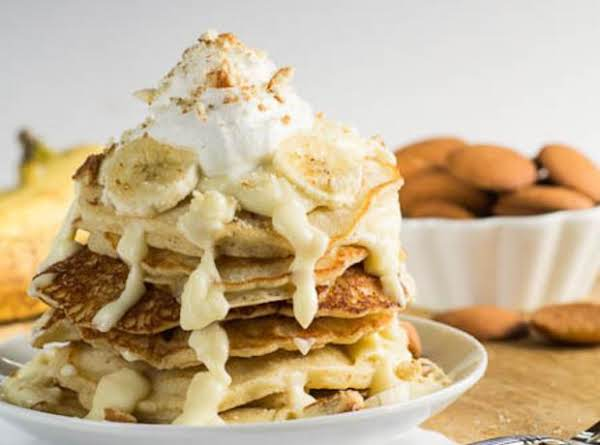 Banana Pudding Pancakes Recipe