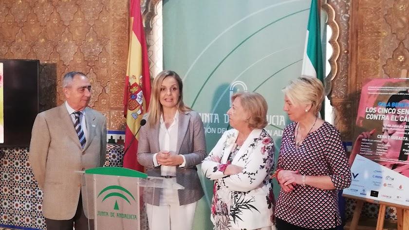 Presentación de la gala en la Delegación del Gobierno de la Junta.