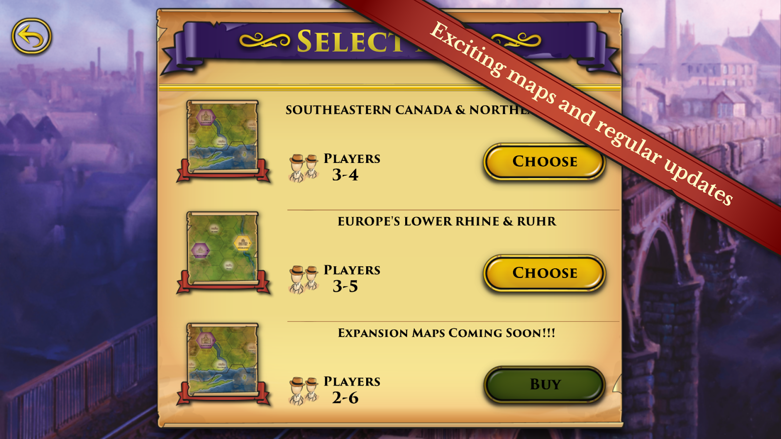 Steam: Rails to Riches- screenshot